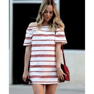 Club Monaco Off Shoulder Nearta Dress, Size 2
